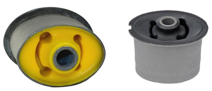 Какие сайлентблоки и втулки лучше: «плюсы» и «минусы» полиуретановых и резиновых шарниров
